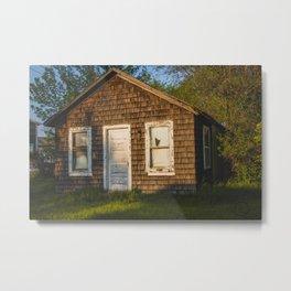 Abandoned Shack, Washburn, North Dakota 3 Metal Print