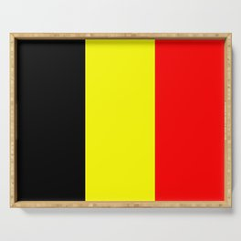 Drapeau Belgique Serving Tray