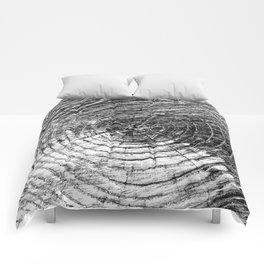 Tree Rings Comforters