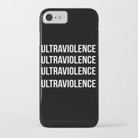 ultraviolence iPhone & iPod Cases featuring ultraviolence by Sofi G.