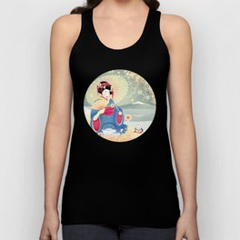 Turning Japanese Unisex Tank Top