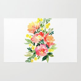 Peony Composition Rug