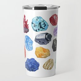 Rocks and Minerals I Travel Mug