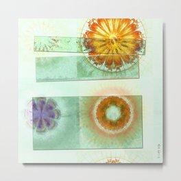 Skedaddle Helpless Flowers  ID:16165-101646-64081 Metal Print