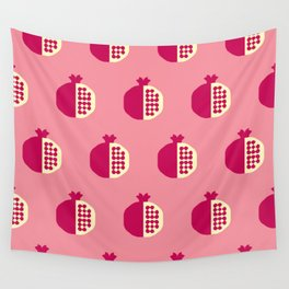 Fruit: Pomegranate Wall Tapestry