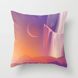 Climber Throw Pillow