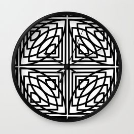 Op Art 161 Wall Clock