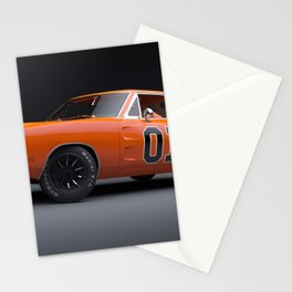 1969 Hugger Orange Hemi Charger RT color photograph / photography / poster Stationery Cards