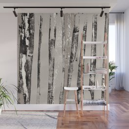 Shadow Branches Wall Mural
