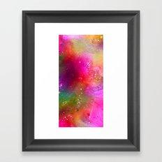 crazy glitter Framed Art Print