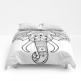 Serious Elephant Comforters