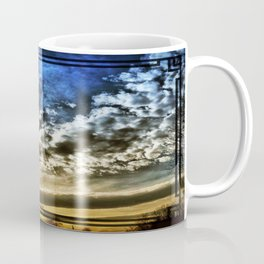 Setting Sun With Hopes To Come Coffee Mug