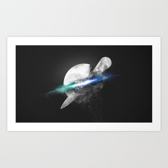 The Knife Party Logo Art Print