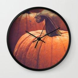 Pumpins {It's Fall} Wall Clock