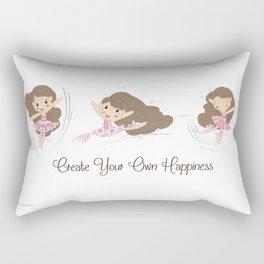 BellaRina - Create Your Own Happiness Rectangular Pillow