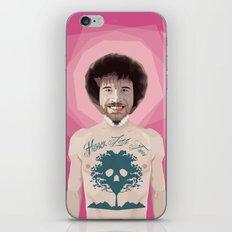 Bob Ross is God iPhone & iPod Skin