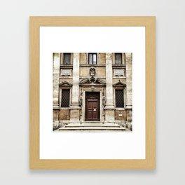 The symmetry II. Framed Art Print