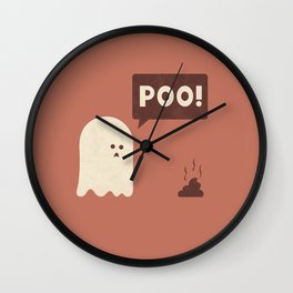 Poo Wall Clock