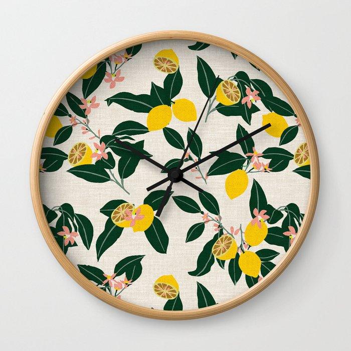 LEMONNY Wall Clock