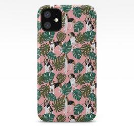 Tropical Treeing Walker Coonhounds 2 iPhone Case