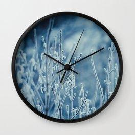 Frosty Morning  Wall Clock