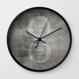 Continuum [BW VER] Wall Clock