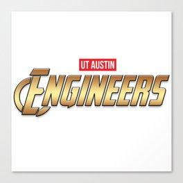 UT Austin Engineers Canvas Print