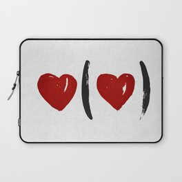 I Carry Your Heart with Me (I Carry It in My Heart) Laptop Sleeve