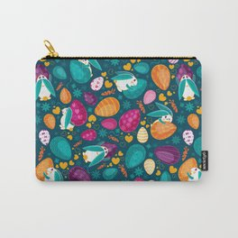 Busy Easter Bunnies Carry-All Pouch