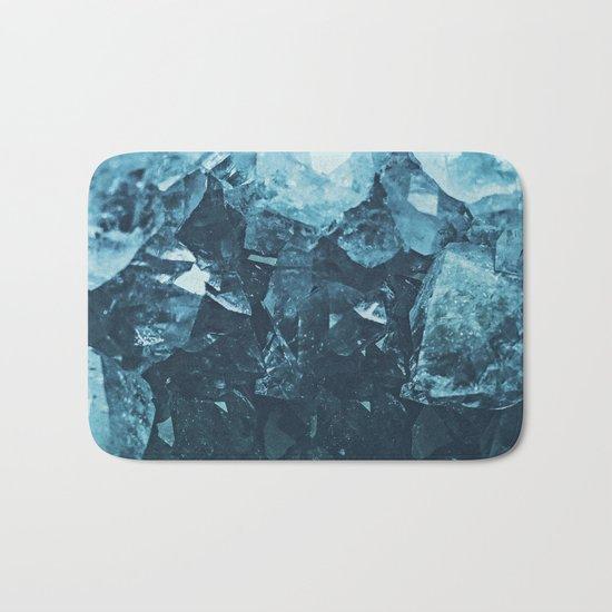 Aquamarine Gem Dreams Bath Mat