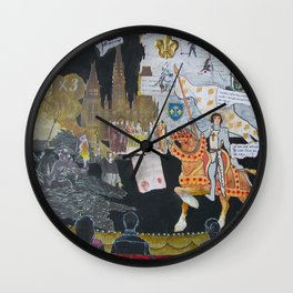 Joan of Arc The Stage Play Wall Clock