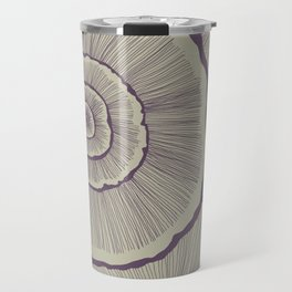 Fungi in Eggplant Travel Mug