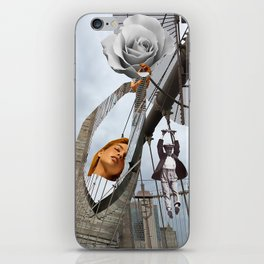 Hold on to your feelings iPhone Skin