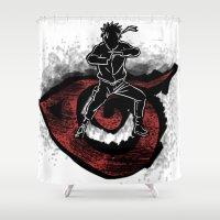 naruto Shower Curtains featuring Naruto Uzumaki by Hope2198