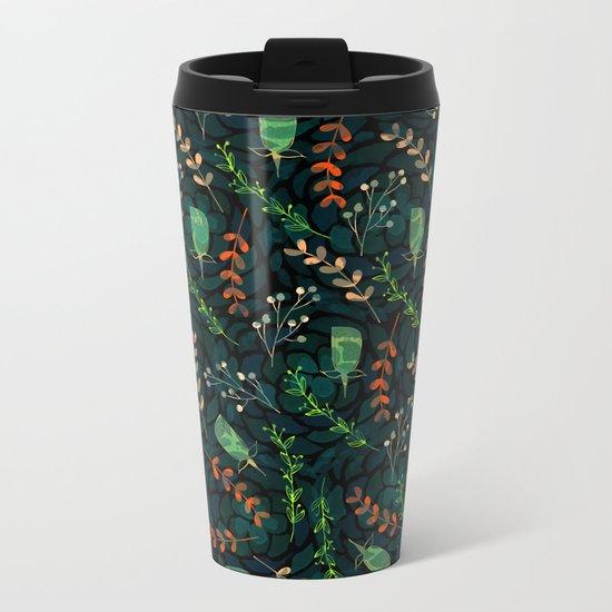 pattern 63 Metal Travel Mug