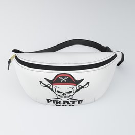 Pirate Dad Skull Corsair Captain Outfit Fanny Pack