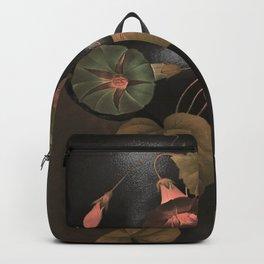 Floral Portrait 3 Backpack