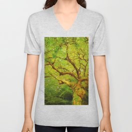 Golgotha Tree Unisex V-Neck