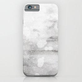 grunge grey scale concrete style abstract look iPhone Case