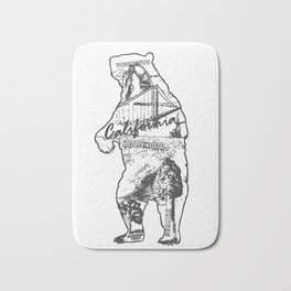 California Bear Bath Mat
