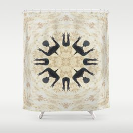 Primal Peace Shower Curtain