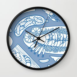 Smorgasbord Wall Clock