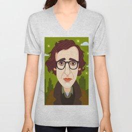 Woody Allen Unisex V-Neck