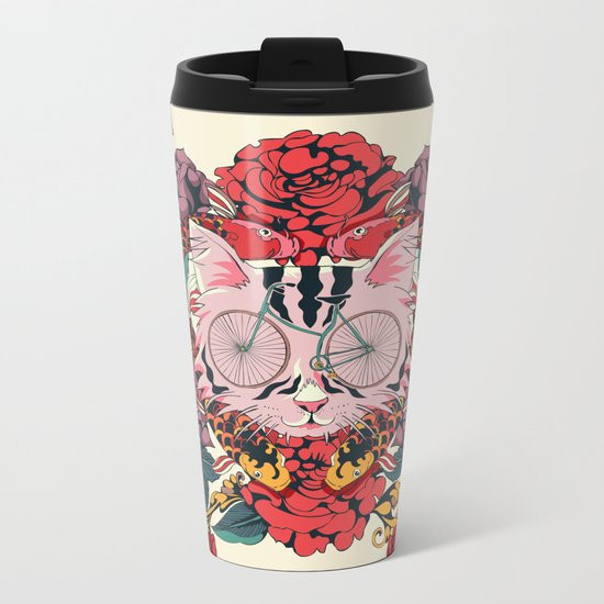 I Couldn't Be Your Friend Metal Travel Mug