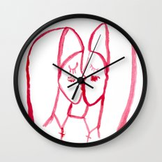 kissing nuns Wall Clock