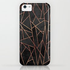 Shattered Black / 2 Slim Case iPhone 5c