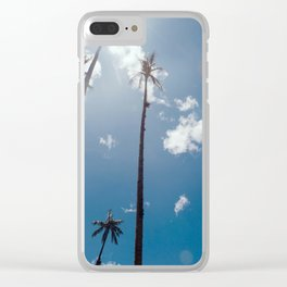 Head in the clouds Clear iPhone Case