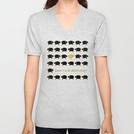 Dare To Be Different Sheep Unisex V-Neck
