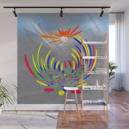 Power of colours Wall Mural