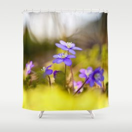 Wildflowers Spring Forest #decor #society6 #buyart Shower Curtain